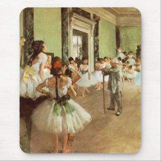 Tapis De Souris La Classe de Danse par Edgar Degas