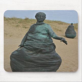 Tapis De Souris La figure sculptures dans les sud protège le tapis