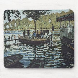 Tapis De Souris La Grenouillere de Claude Monet  