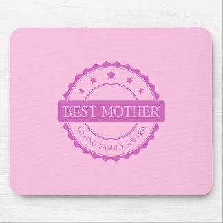 Tapis De Souris La meilleure mère - récompense affectueuse de