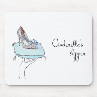 Tapis De Souris La pantoufle de Cendrillon