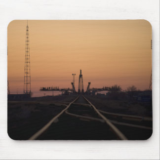 Tapis De Souris La plate-forme de lancement de Soyuz