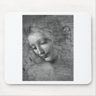 Tapis De Souris La Scapigliata par Leonardo da Vinci