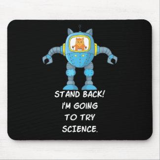 Tapis De Souris La Science drôle de robot de scientifique
