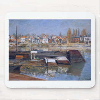 Tapis De Souris La Seine chez Asnieres par Claude Monet