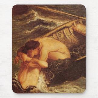 Tapis De Souris La sirène et le marin