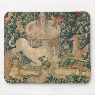 Tapis De Souris La tapisserie de licorne