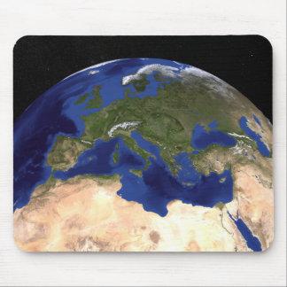 Tapis De Souris La terre de marbre bleue 7 de prochaine génération