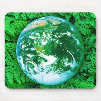 Tapis De Souris La terre verte - conscience écologique