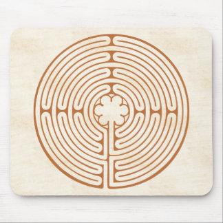 Tapis De Souris Labyrinthe de Chartres