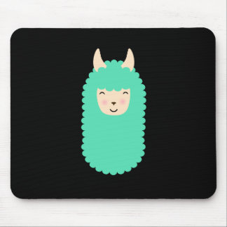 Tapis De Souris Lama heureux Emoji Mousepad