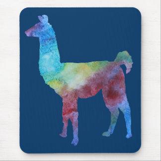 Tapis De Souris Lamas colorés