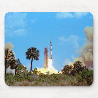 Tapis De Souris Lancement de la NASA Apollo 16 Fusée Saturn v