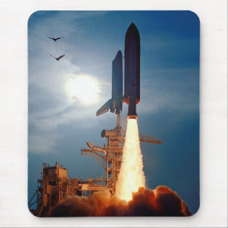Tapis De Souris Lancement STS-64 de découverte de navette spatiale