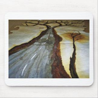 Tapis De Souris L'arbre de la vie avec la route ce Th de