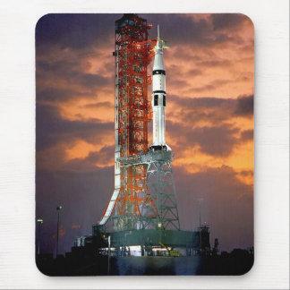 Tapis De Souris Launchpad de lever de soleil de lanceur de la NASA