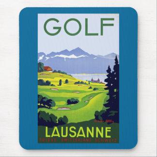 Tapis De Souris ~ Lausanne de golf