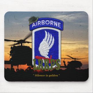 Tapis De Souris le 173rd LRRPS aéroporté LRRP Vietnam contrôle