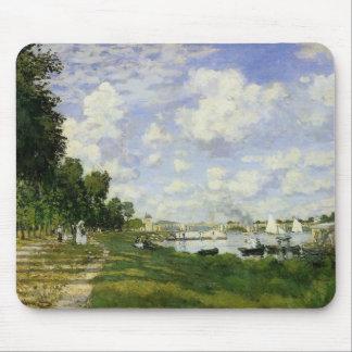 Tapis De Souris Le bassin à Argenteuil - Claude Monet
