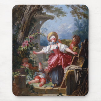 Tapis De Souris Le bluff du l'Aveugle-Man de Fragonard