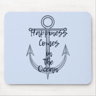 Tapis De Souris Le bonheur vient dans l'océan