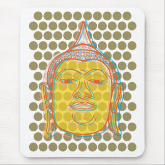 Tapis De Souris Le bruit de Bouddha pointille Mousepad