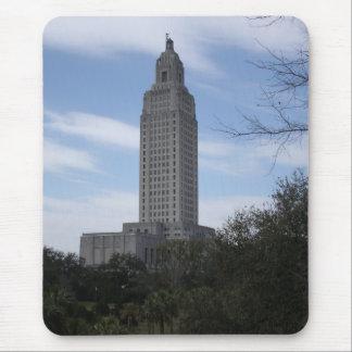 Tapis De Souris Le capitol d'état de la Louisiane