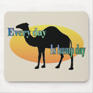 Tapis De Souris Le chameau drôle chaque jour est journée en milieu