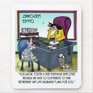 Tapis De Souris Le chat a 9 plans d'assurance-vie