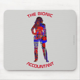 """Tapis De Souris """"Le comptable bionique """""""