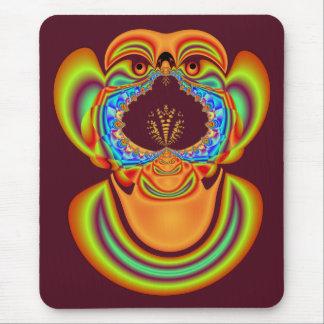 Tapis De Souris Le côté laid des fractales Mousepad
