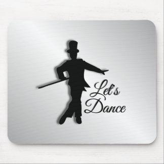 Tapis De Souris Le danseur de claquettes nous a laissés danser