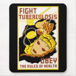 Tapis De Souris Le ~ de tuberculose de combat se conforment aux