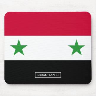 Tapis De Souris Le drapeau de la Syrie