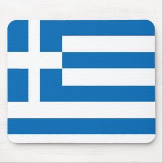 Tapis De Souris Le drapeau national de la Grèce