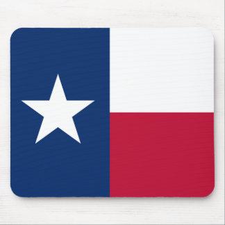 Tapis De Souris Le drapeau solitaire du Texas de drapeau d'étoile