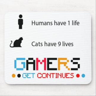 Tapis De Souris Le Gamer continue Mousepad