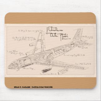 Tapis De Souris Le KC-130 Stratotanker Mousepad de da Vinci
