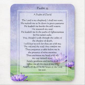 Tapis De Souris Le KRW le seigneur est mon psaume 23 Mousepad de