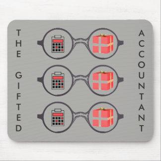 """Tapis De Souris """"Le logo du comptable doué """""""