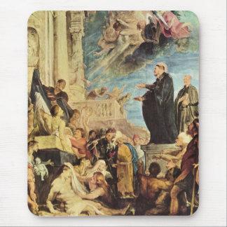 Tapis De Souris Le miracle de St Francis Xavier par Paul Rubens