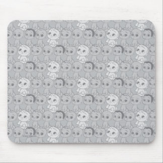 Tapis De Souris Le motif gris du bébé | de patron