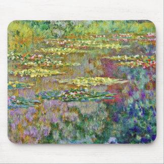 Tapis De Souris Le nénuphar fleurit des beaux-arts de Claude Monet