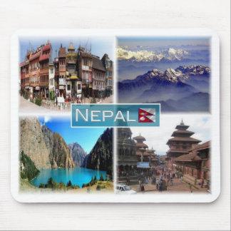 Tapis De Souris Le NP Népal - Boudha Stupa -