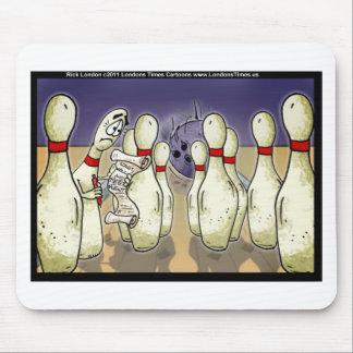 Tapis De Souris Le Pin de bowling vivant les cartes drôles etc. de