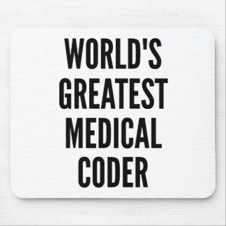 Tapis De Souris Le plus grand codeur médical des mondes