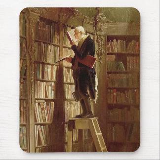 Tapis De Souris Le rat de bibliothèque
