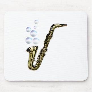 Tapis De Souris Le saxophone de bulle