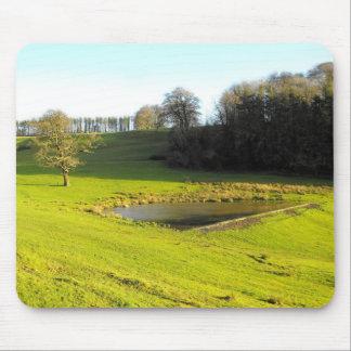 Tapis De Souris Le soleil d'automne à Somerset