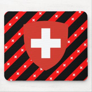 Tapis De Souris Le Suisse barre le drapeau